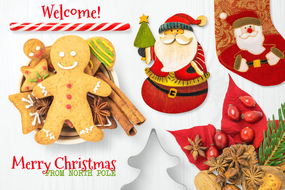 Isolated Christmas Objects 05