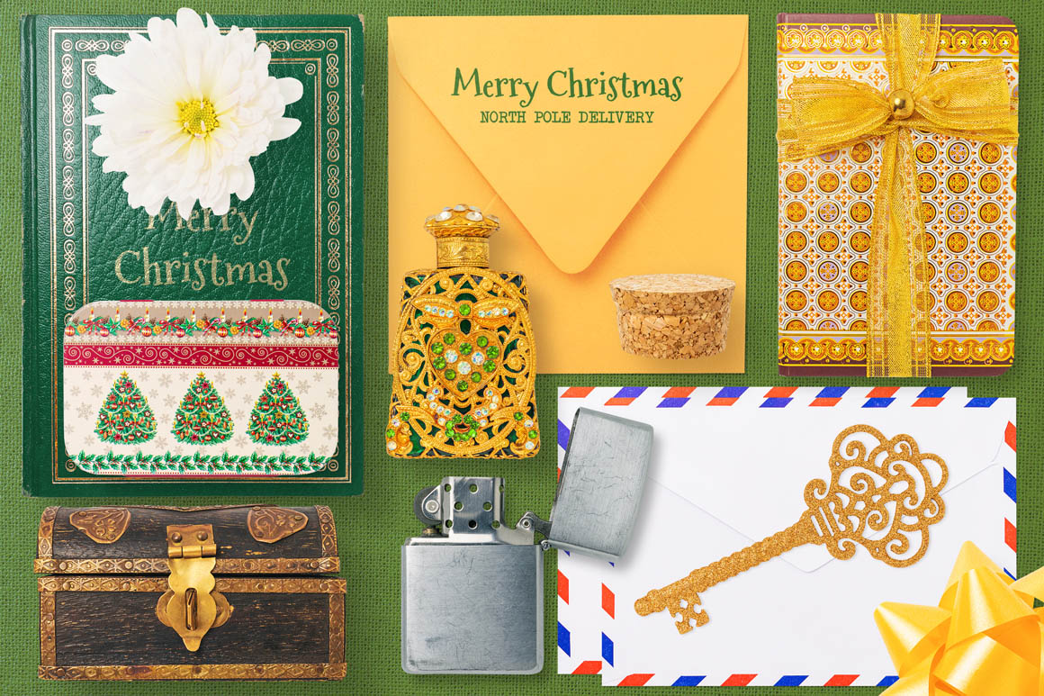 Isolated Christmas Objects 09