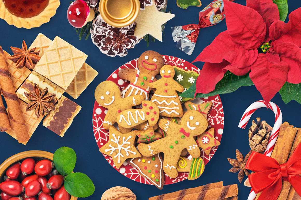 Isolated Christmas Objects 12