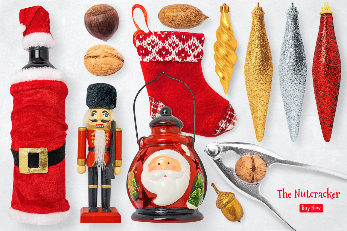 Isolated Christmas Objects 13