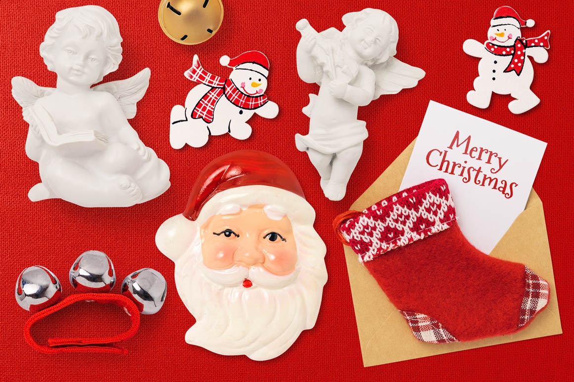Isolated Christmas Objects 14