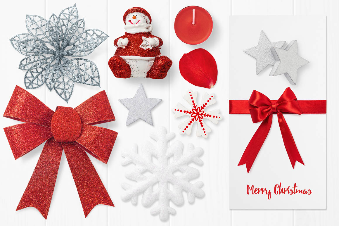 Isolated Christmas Objects 16