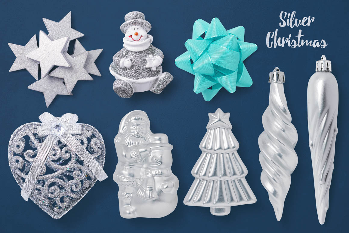 Isolated Christmas Objects 17