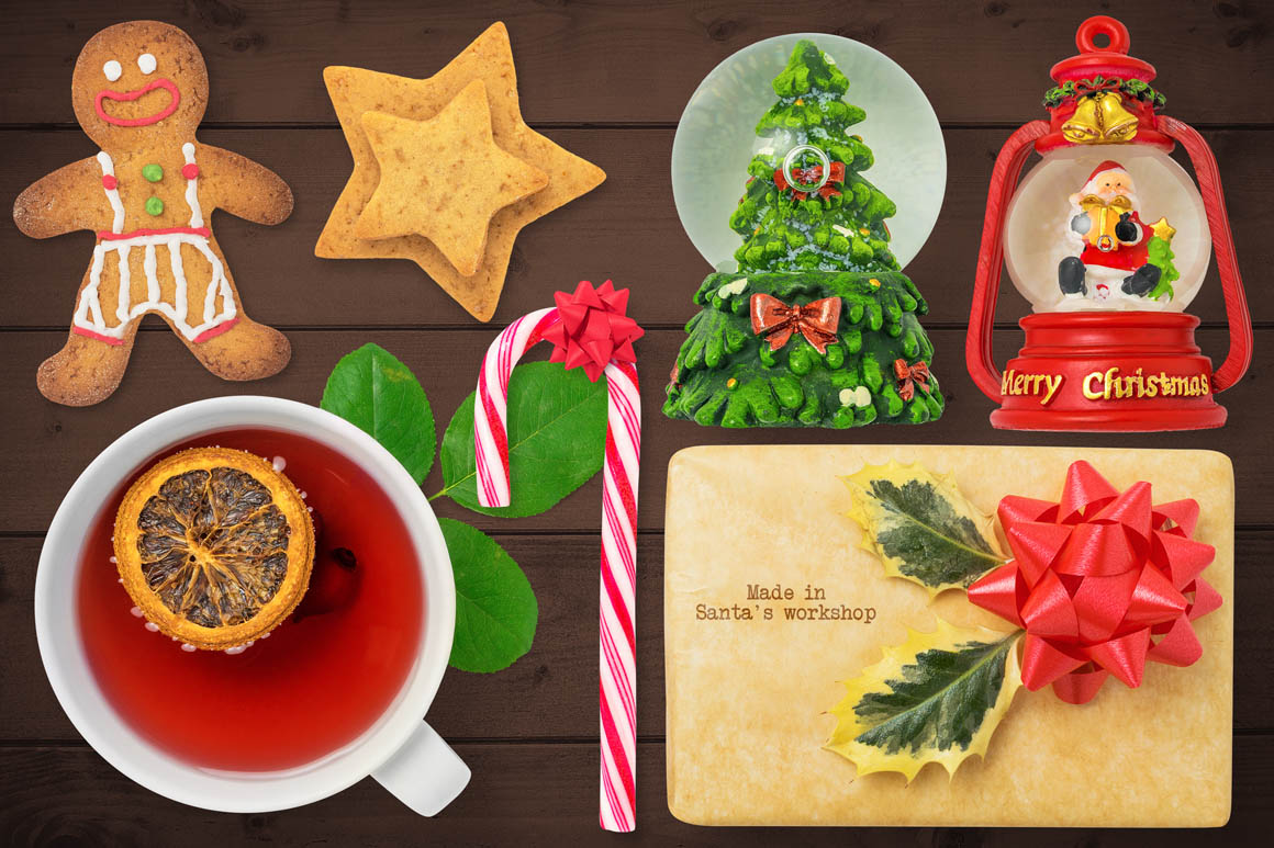 Isolated Christmas Objects 18