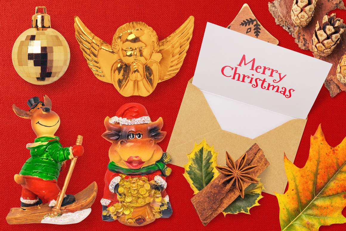 Isolated Christmas Objects 20