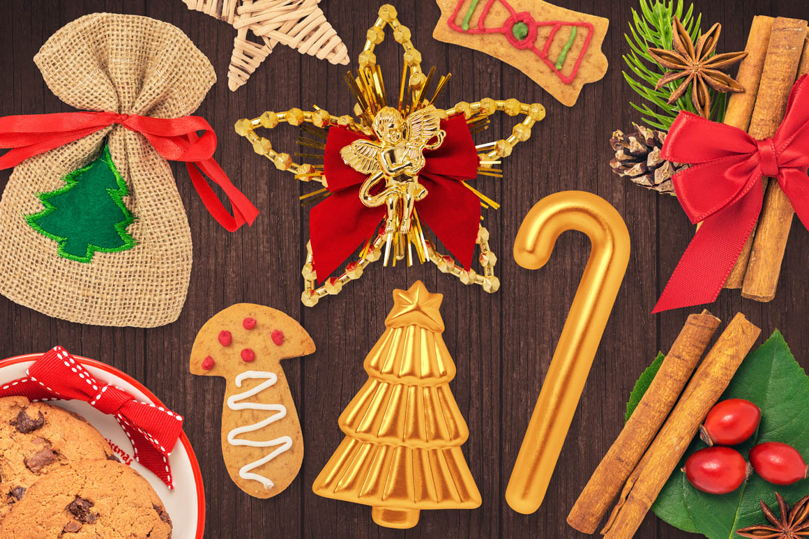 Isolated Christmas Objects 22