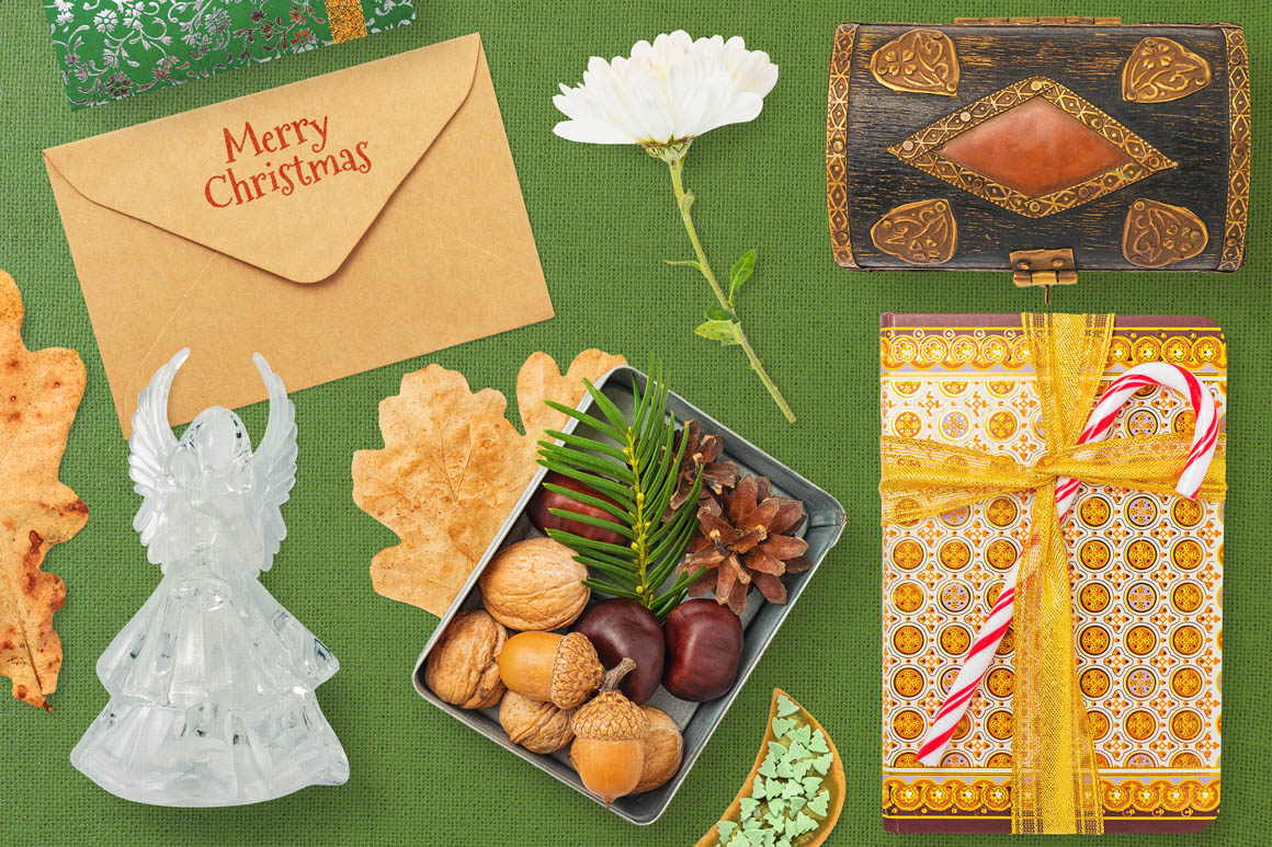 Isolated Christmas Objects 24