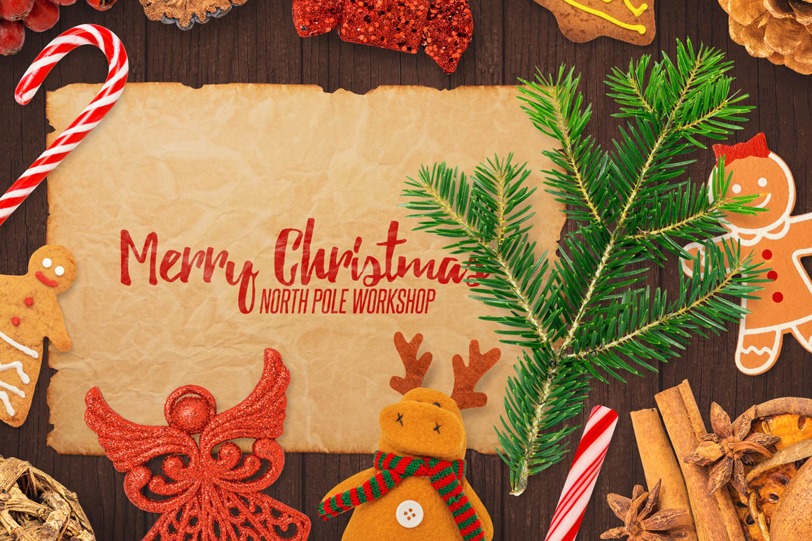 Isolated Christmas Objects 25