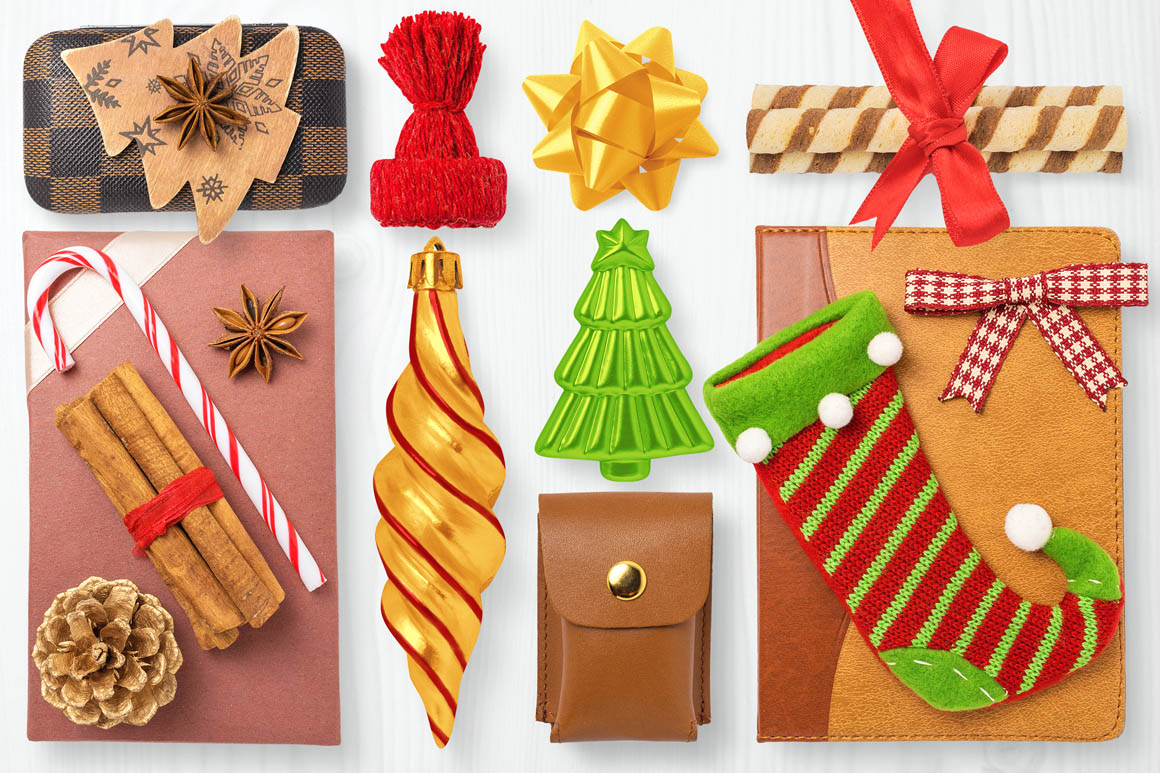 Isolated Christmas Objects 30