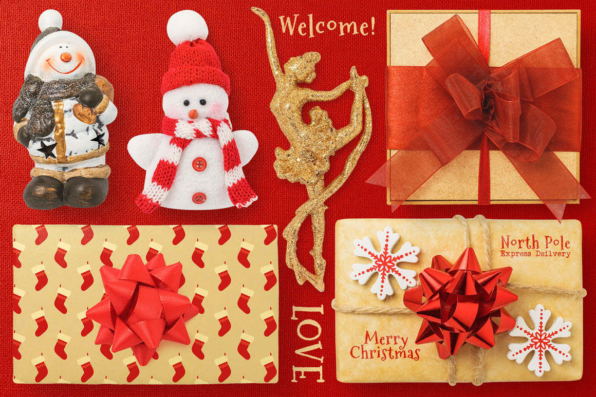Isolated Christmas Objects 33