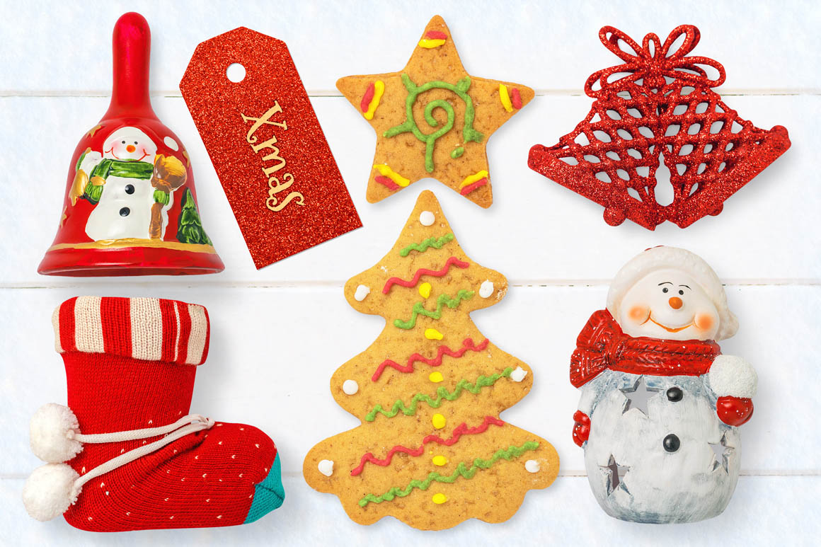 Isolated Christmas Objects 38