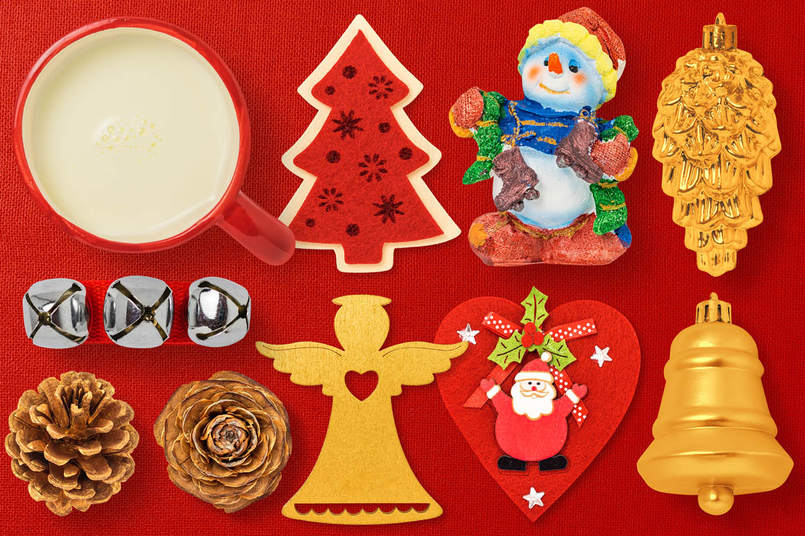Isolated Christmas Objects 42