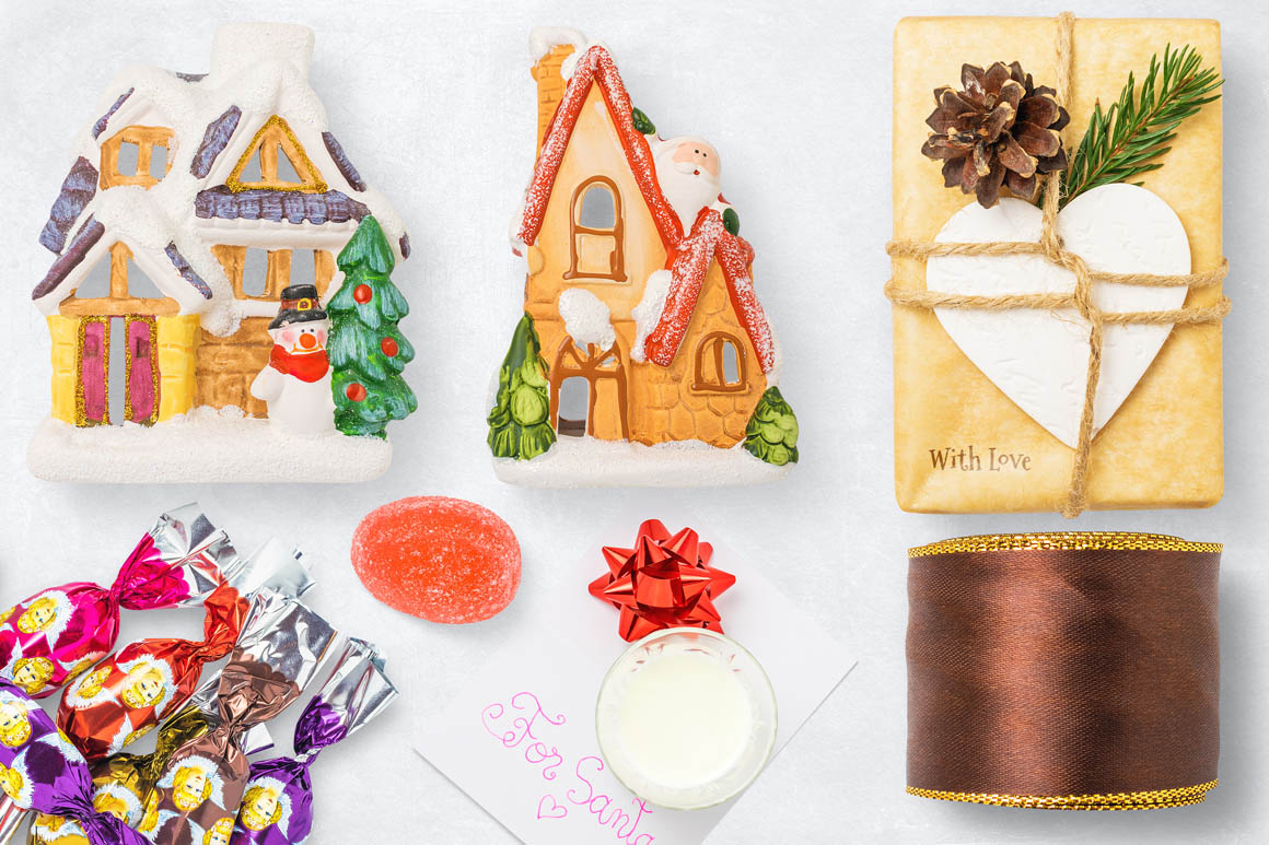 Isolated Christmas Objects 43