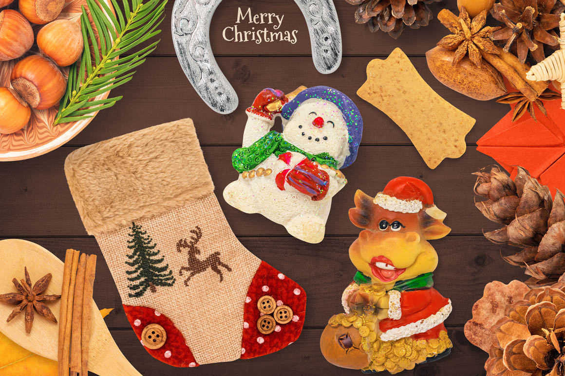 Isolated Christmas Objects 45