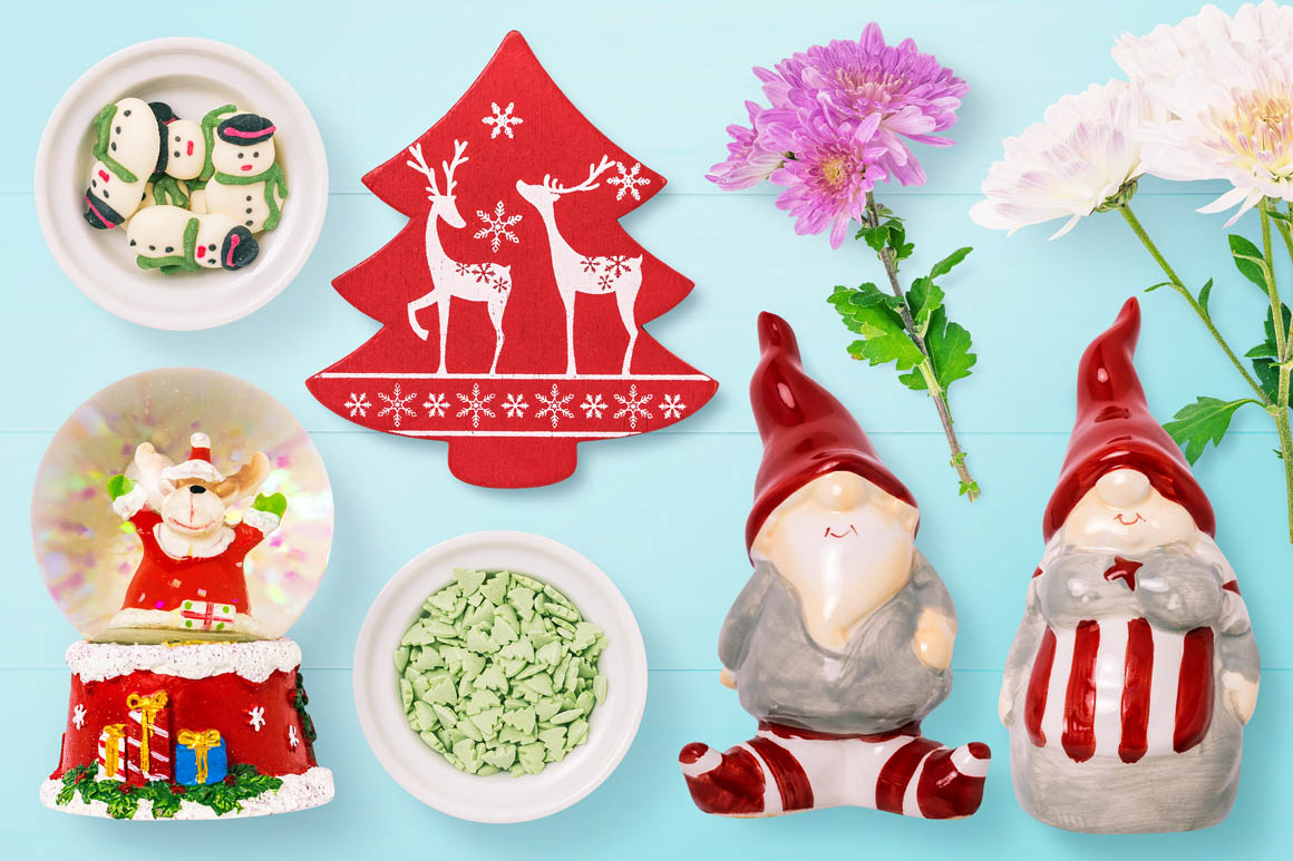 Isolated Christmas Objects 46