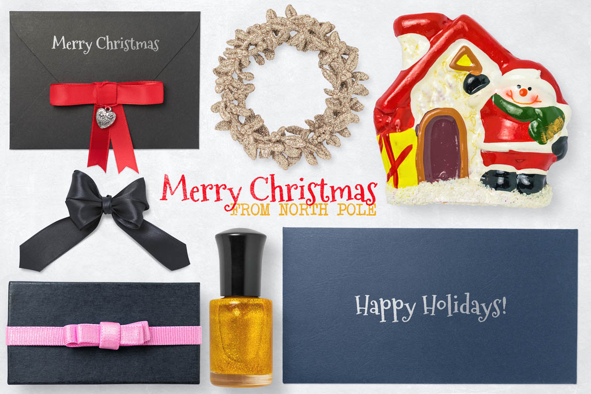Isolated Christmas Objects 48