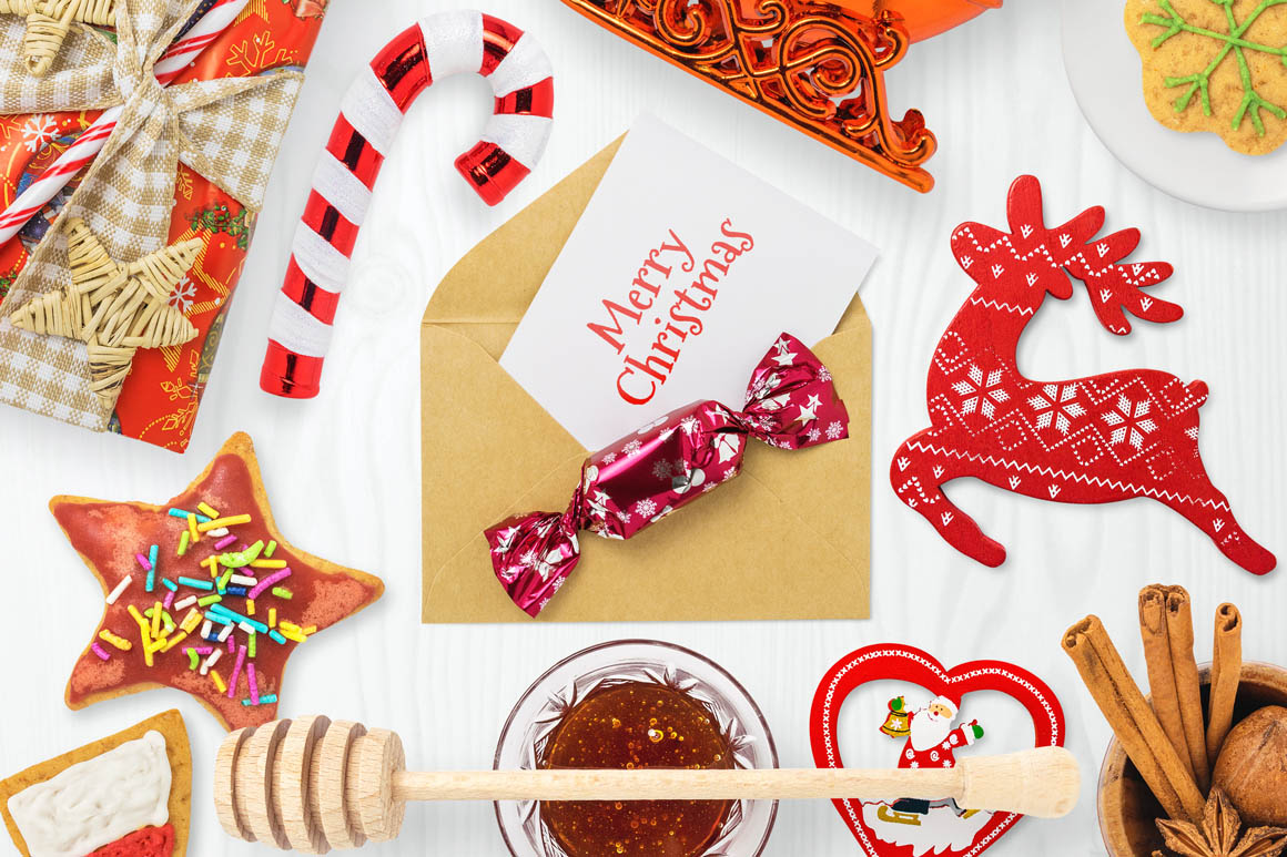 Isolated Christmas Objects 50