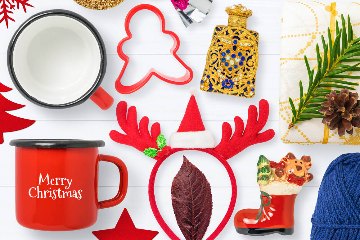 Isolated Christmas Objects 51