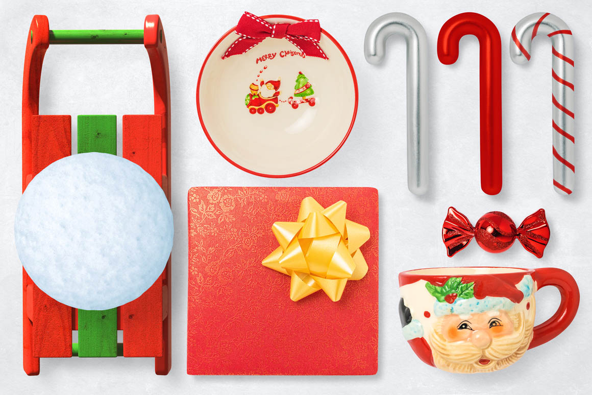 Isolated Christmas Objects 53