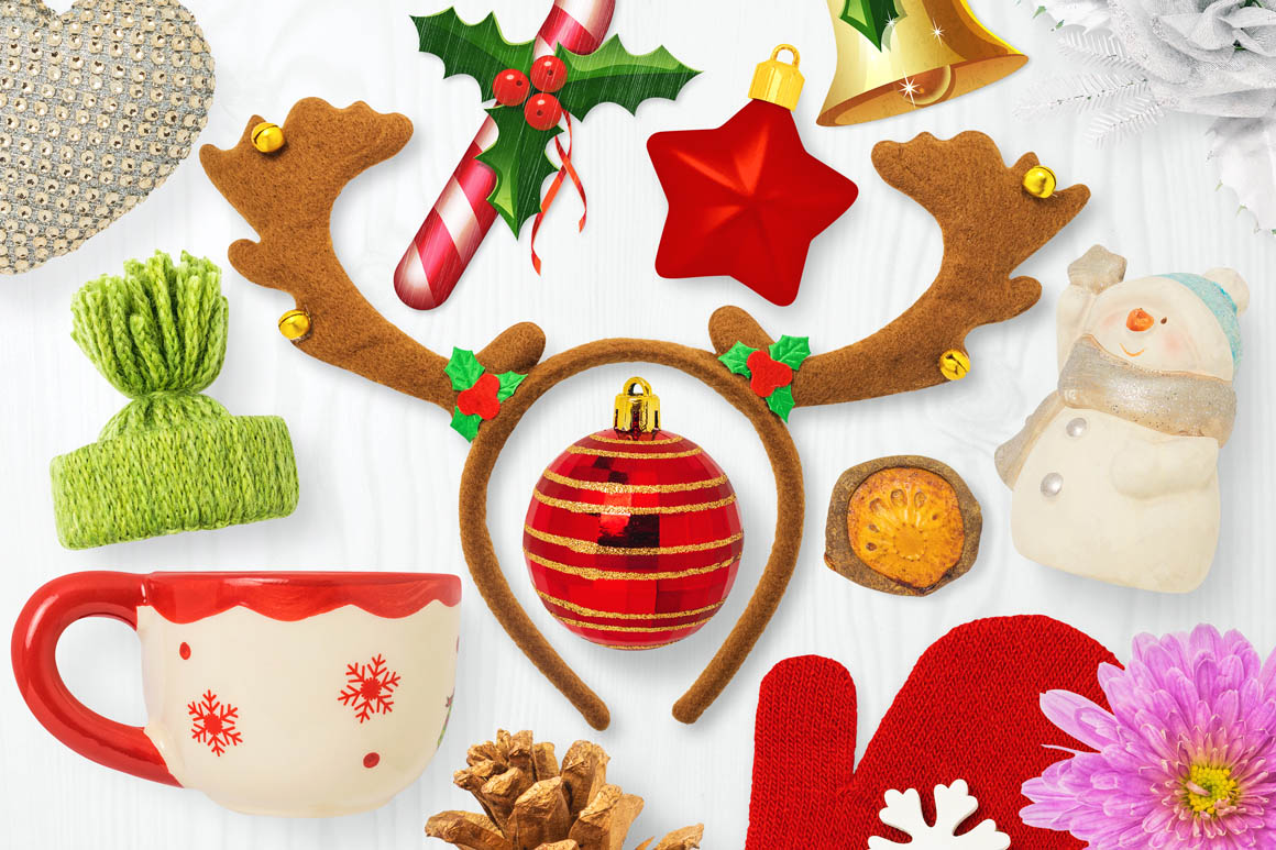 Isolated Christmas Objects 54