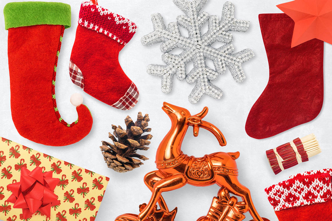 Isolated Christmas Objects 55