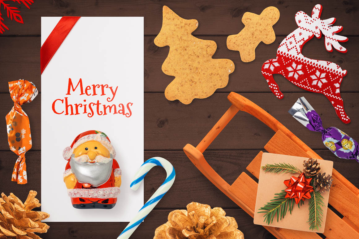 Isolated Christmas Objects 57