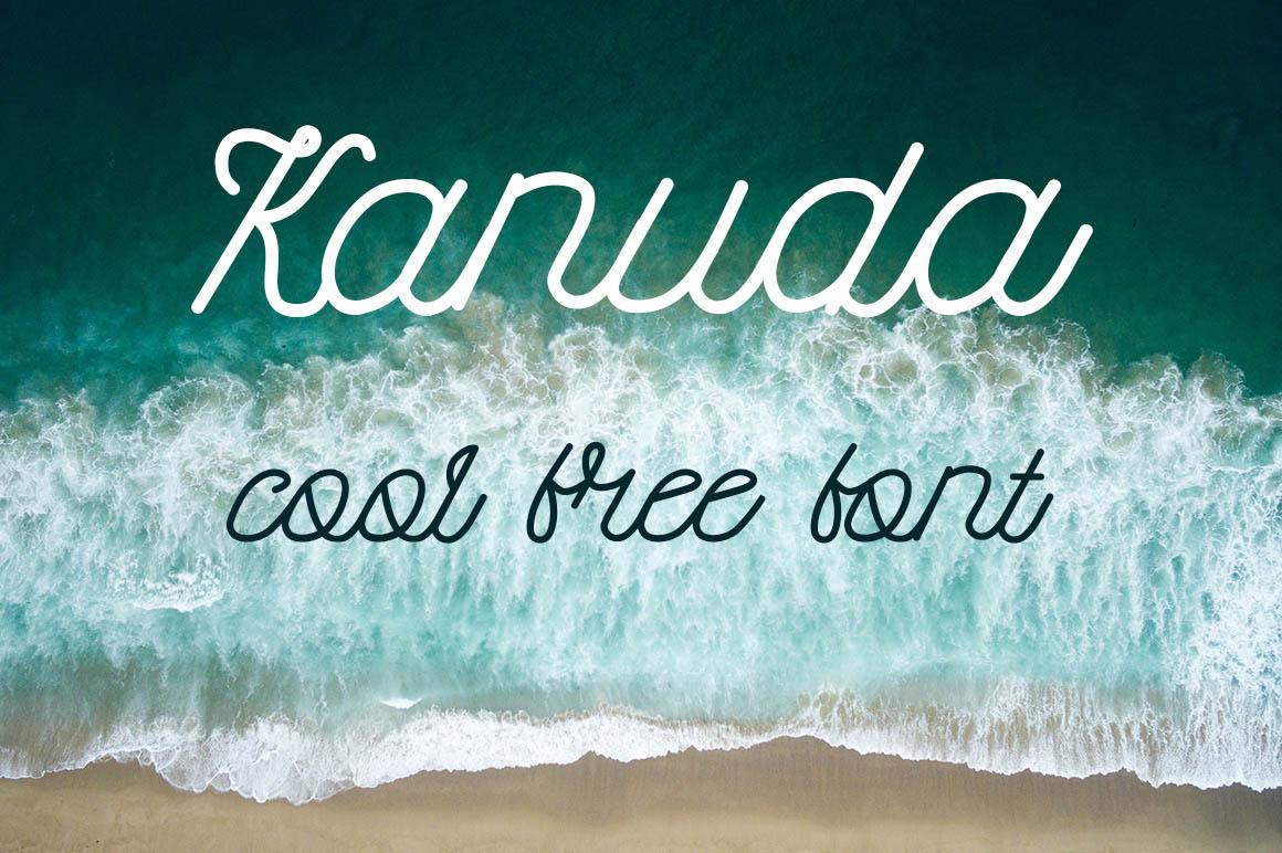 Kanuda-free-font