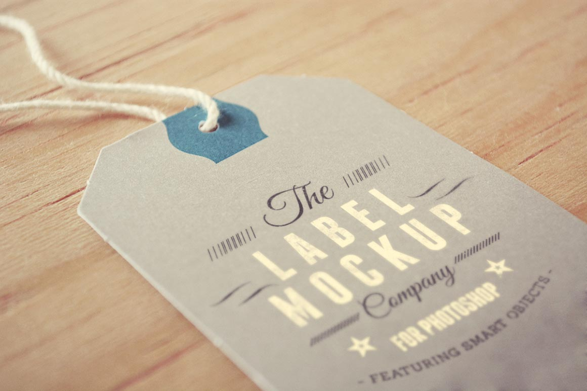 Label - Tag - Mockup