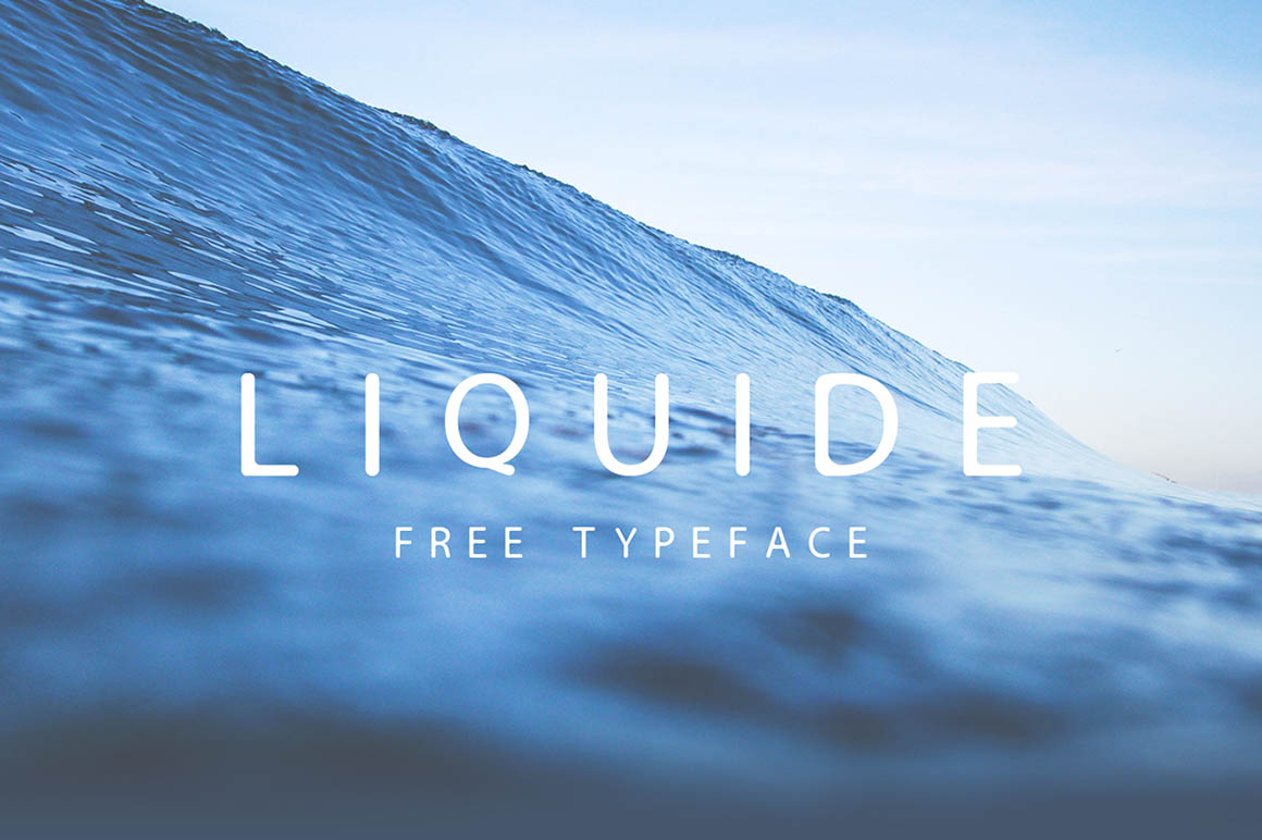Liquide - Free Typeface