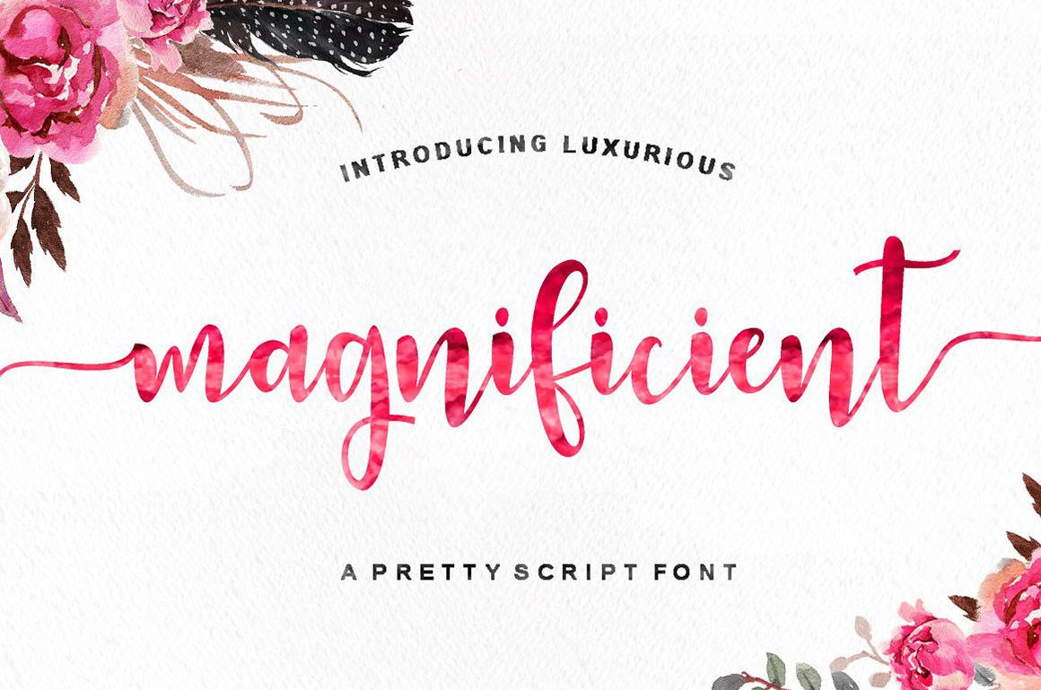 Magnificient Script 1