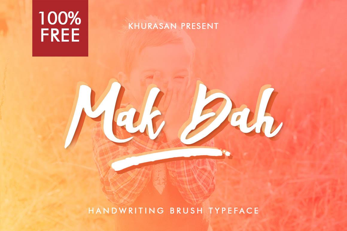 Mak-Dah-free-font-1