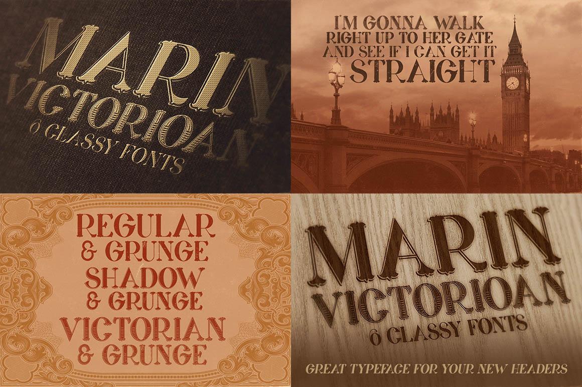 Grunge & Vintage Fonts Giga Bundle - Dealjumbo com — Discounted design  bundles with extended license!