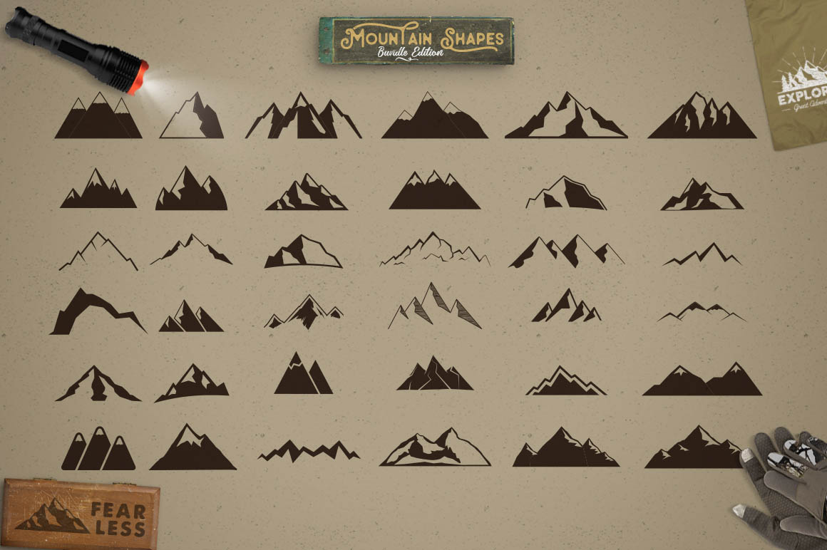 MountainShapesBundle2