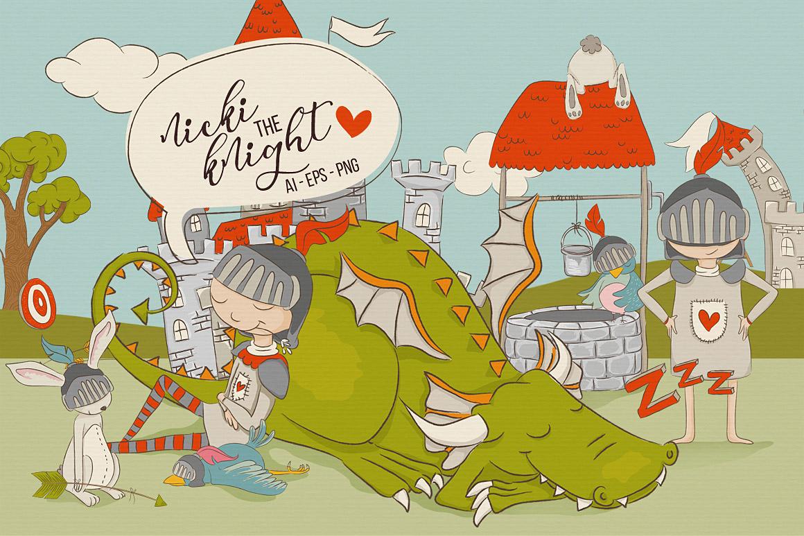 NickiTheKnight_Main