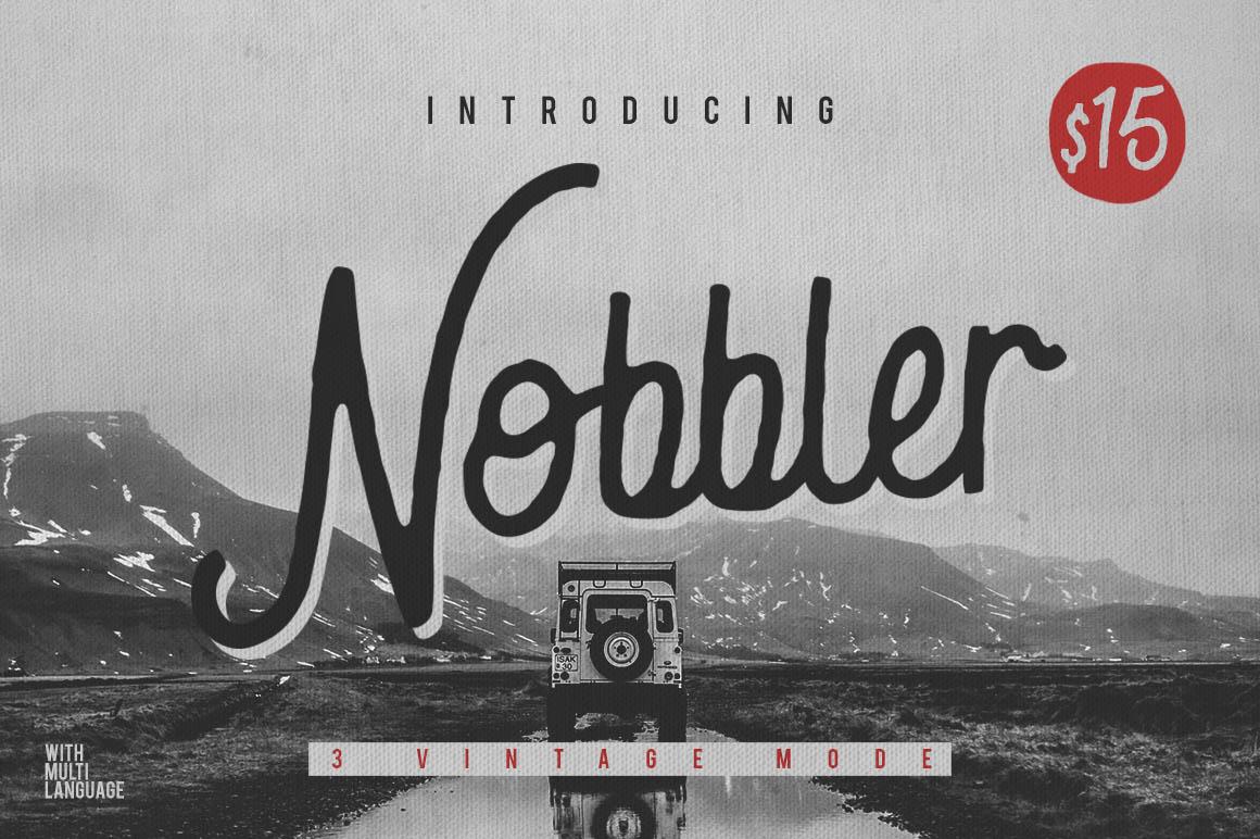 Nobbler Typeface 1