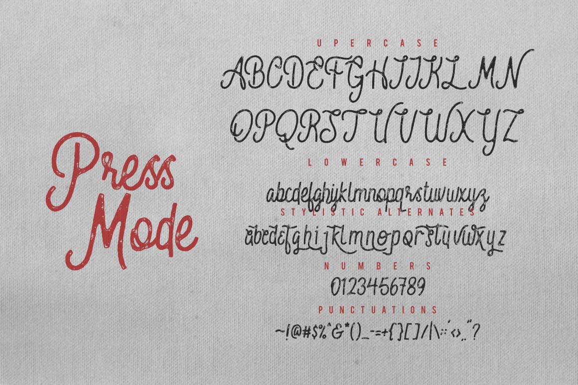 Nobbler Typeface 4