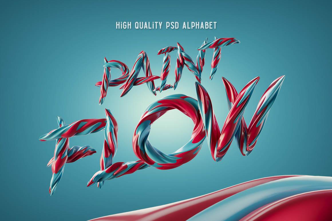 Paint-Flow-Alpabet1