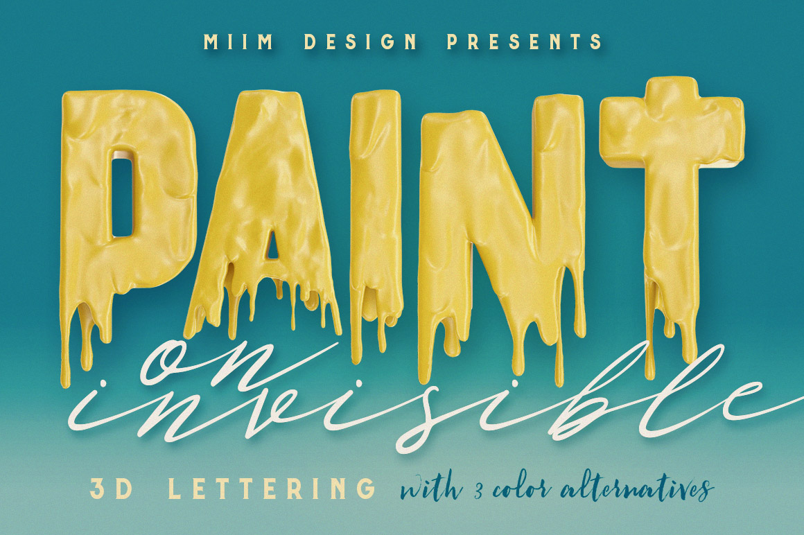 PaintingOnIvisible3Dlettering1