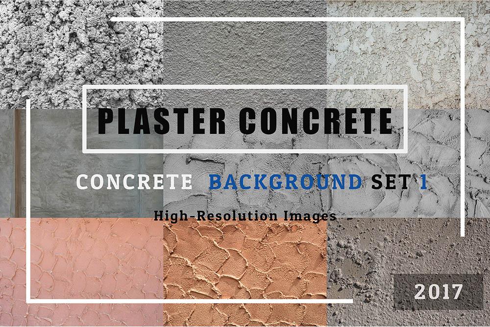 Plaster-CONCRETE-of-50-Concrete-Textures-Background-Set-01