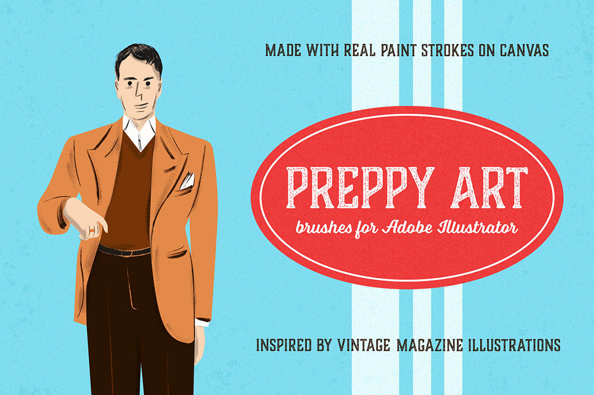 Preppy Art Brushes1