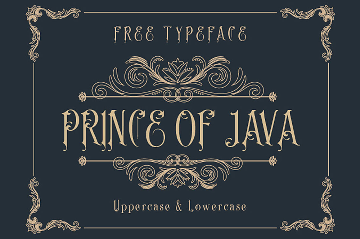 Prince-of-Java-Typeface-1