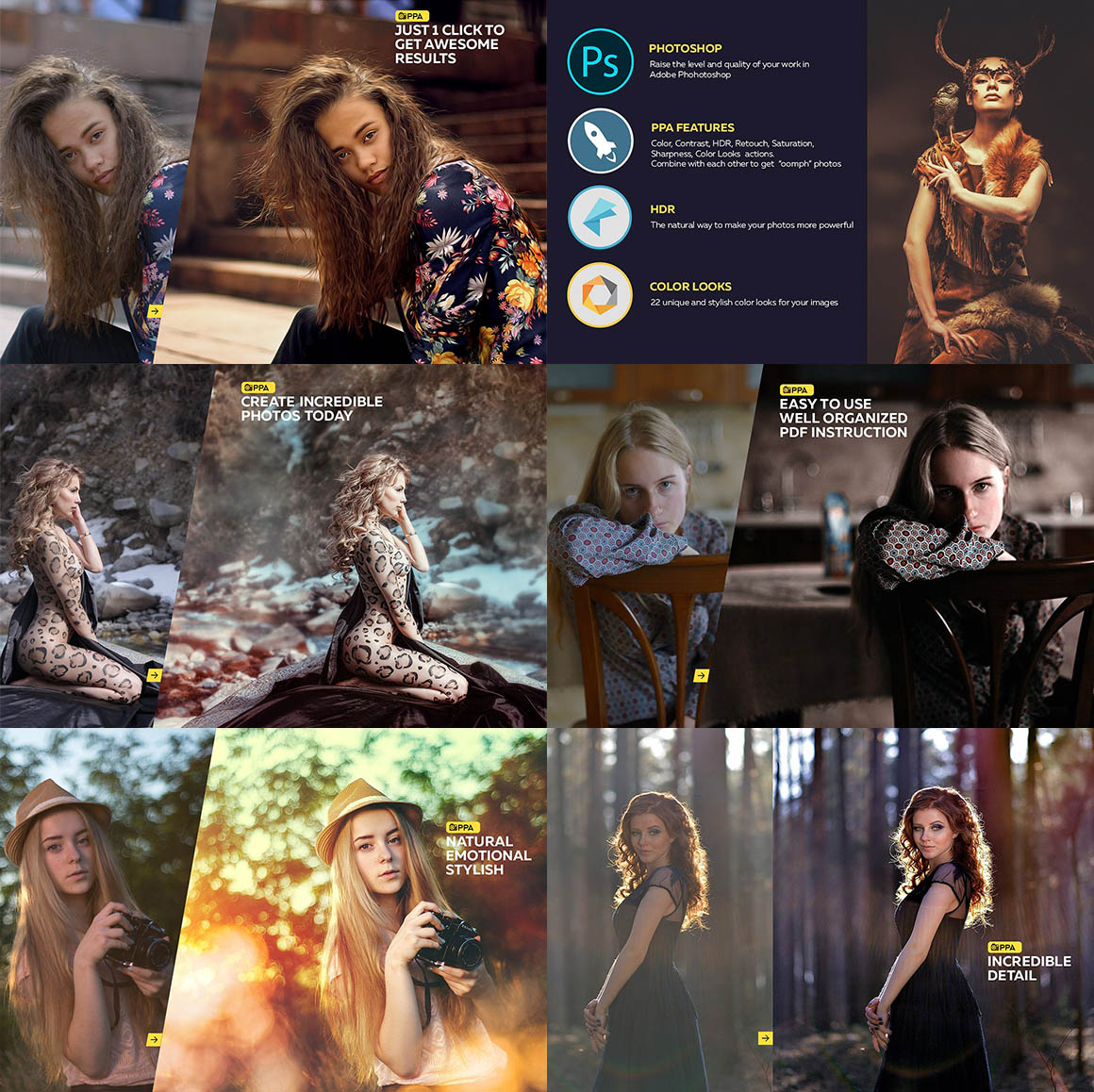 Professional Photoshop Actions 7