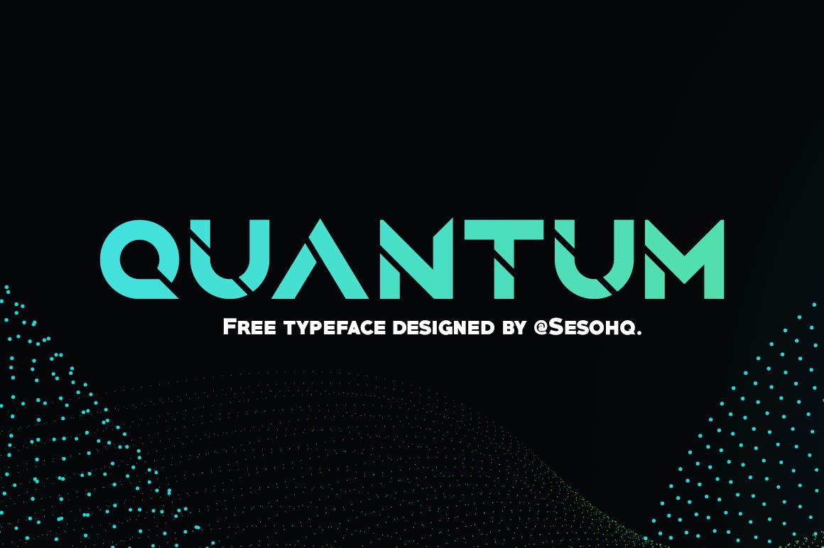 Quantum-free-font-1