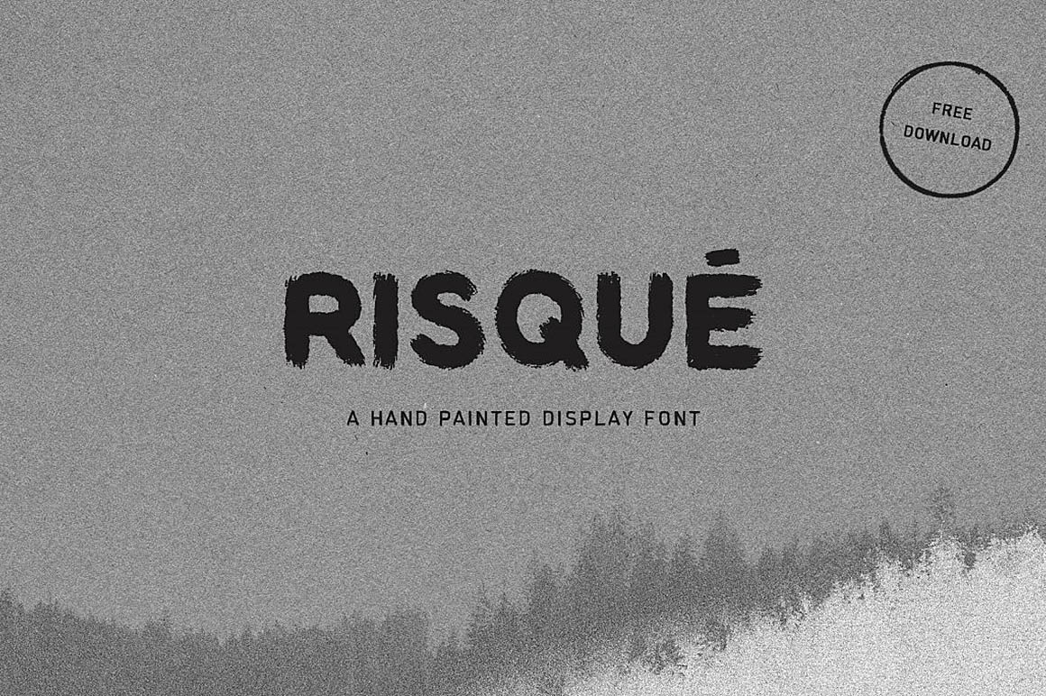 RISQUE-free-font-1