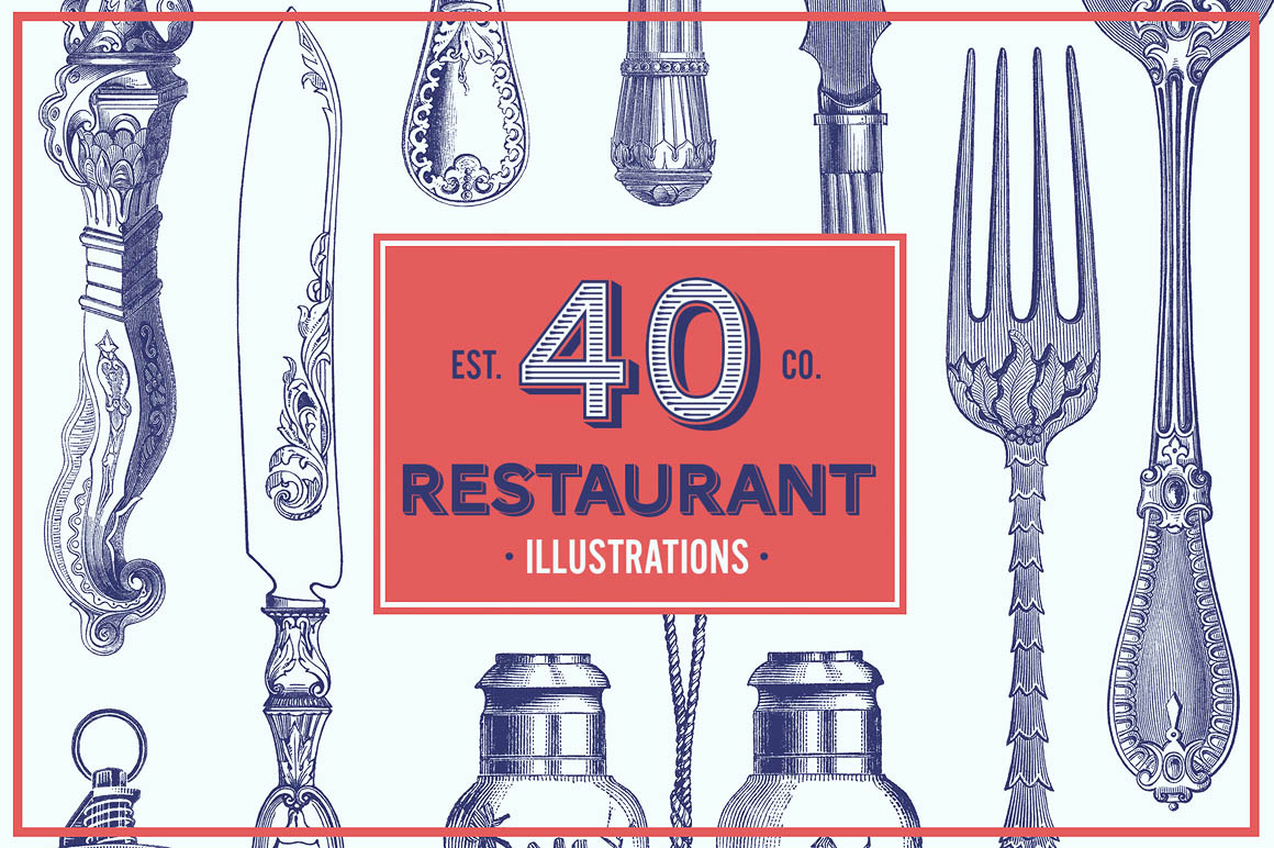 Restaurant-Vintage-Vector-Illustrations-01