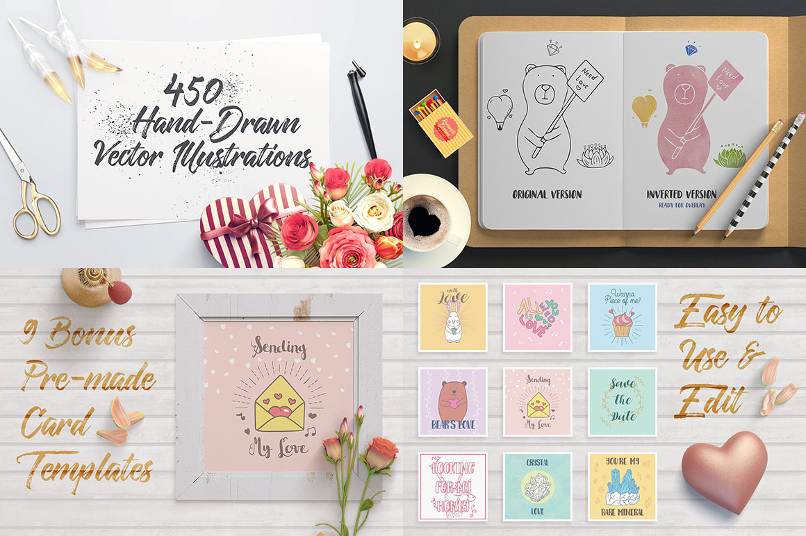 Romantic Dreams Graphic Pack2