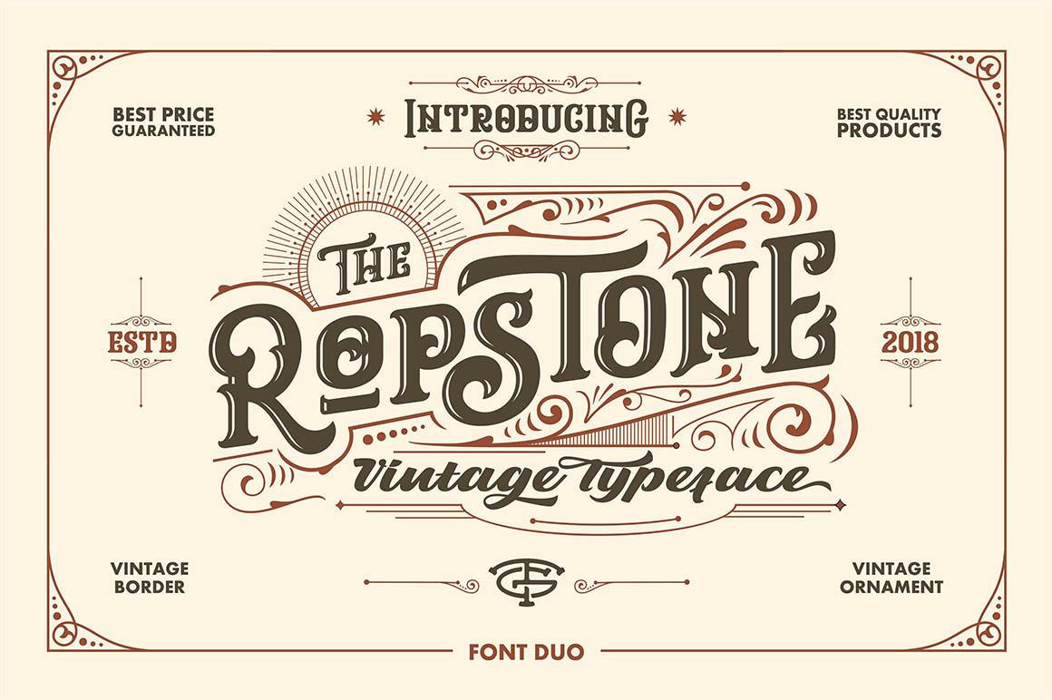Ropstone - Free Font