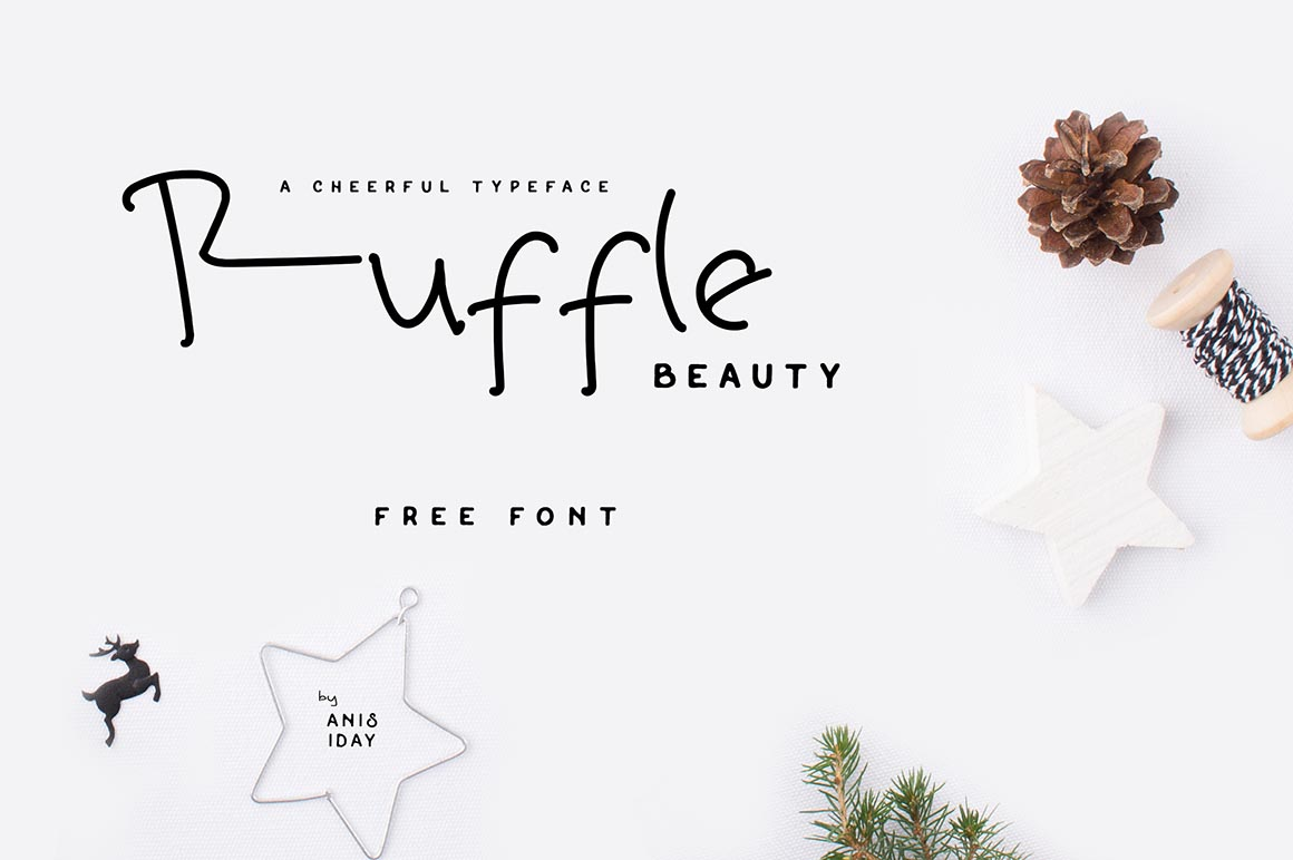 Ruffle Beauty 1