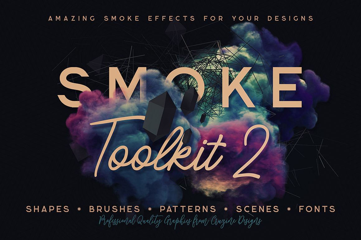 Smoke Toolkit 2 - Dealjumbo com — Discounted design bundles with extended  license!