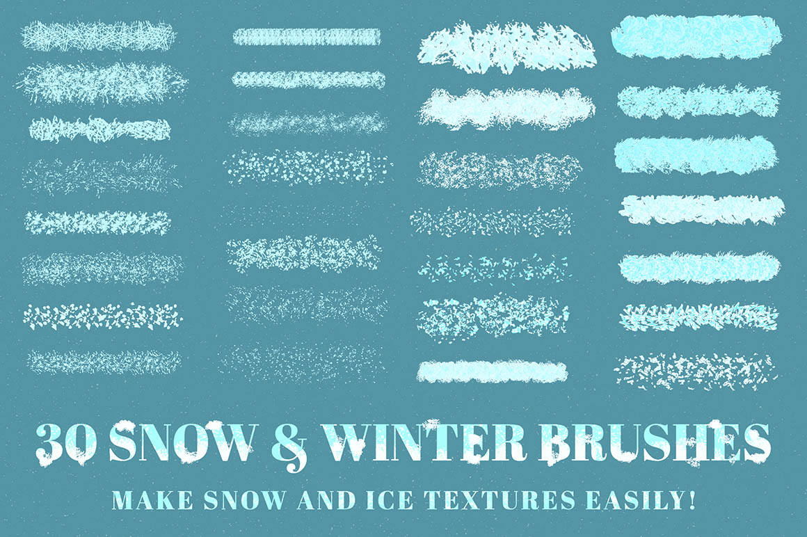Snow and Winter Brushes2